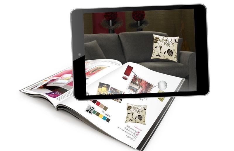 Réinventer le print avec la réalité augmentée
